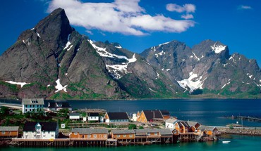 Lofoten norway islands HD wallpaper