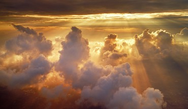 Clouds sun heavenly HD wallpaper