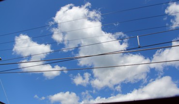 Japon nuages ​​kyoto ciel bleu  HD wallpaper
