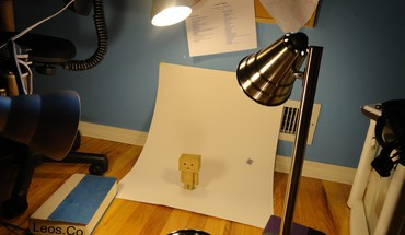 Danbo during his photo HD wallpaper