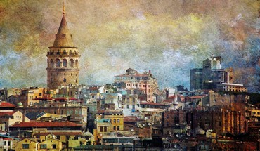 Galata tower istanbul turkey cities cityscapes HD wallpaper