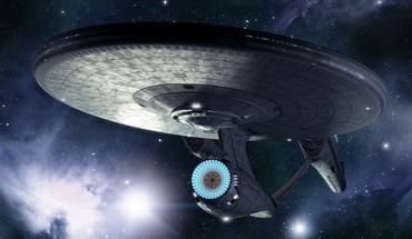 Futuristic star trek spaceships science fiction sci-fi HD wallpaper