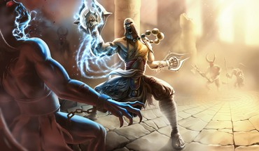 Fantasy art artwork diablo iii monk shaolin HD wallpaper