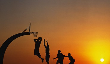 Evening games HD wallpaper