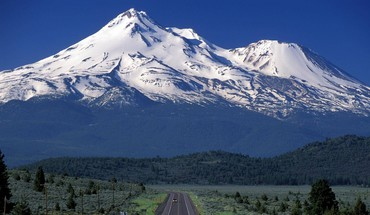 Scenic travels mount shasta california HD wallpaper