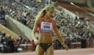 Russie Darya Klishina  HD wallpaper