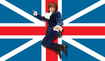 Austin Powers Britų Mike Myers su akiniais  HD wallpaper