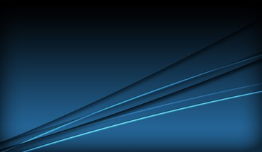 Abstract blue minimalistic computer graphics HD wallpaper