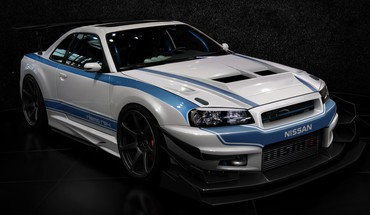 Cars design tuning tuned nissan skyline r34 gt-r HD wallpaper