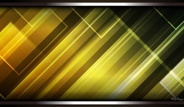 Light lines green gold HD wallpaper
