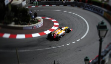 Formula one monaco renault HD wallpaper