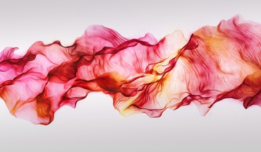 Abstract waves rainbows red light colors trapcode mir HD wallpaper