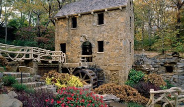 Arkansas little mill mills north HD wallpaper