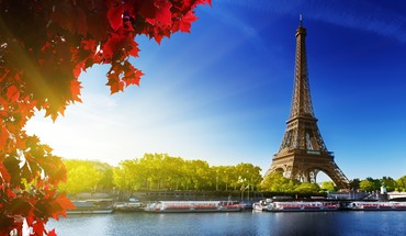 Eiffel tower sunshine HD wallpaper
