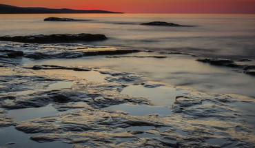 Grand marais sunrise HD wallpaper
