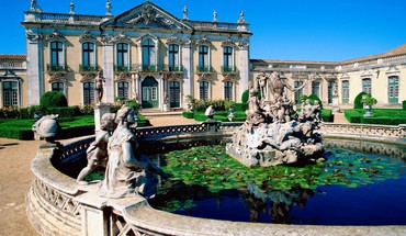 Portugal national palace HD wallpaper