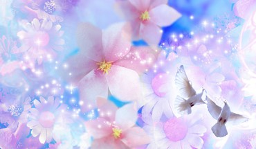 Peaceful pastel prophecy HD wallpaper