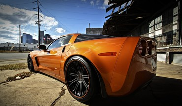 Cars chevrolet corvette z06 HD wallpaper