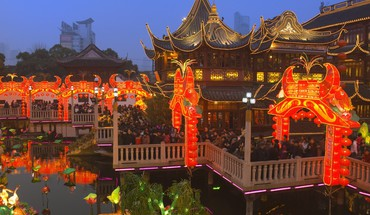 China shanghai temple fair HD wallpaper