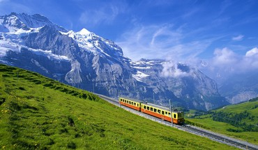 Beautiful switzerland landscape HD wallpaper