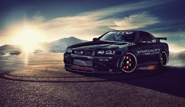Nissan skyline r34 gt-r HD wallpaper