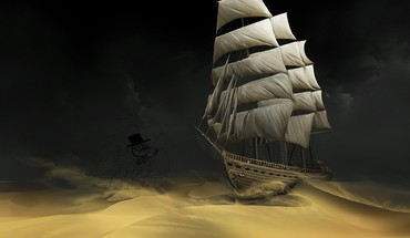 The adventures of tintin deserts sand ships HD wallpaper