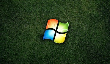 Windows logo nature HD wallpaper