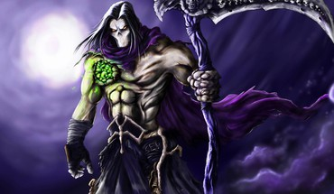 Video games death scythe darksiders 2 HD wallpaper