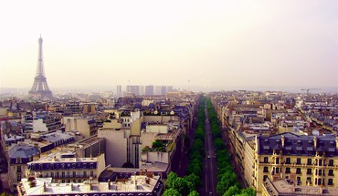 Paris landscapes cities widescreen HD wallpaper