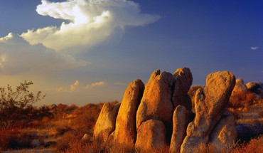 Kalifornijos Mojave dykuma gamtos skyscapes  HD wallpaper