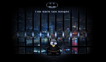 Humor lustig tux Parodie digital art  HD wallpaper