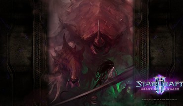 Artwork starcraft ii HD wallpaper