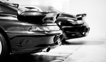 Porsche cars monochrome turbo HD wallpaper