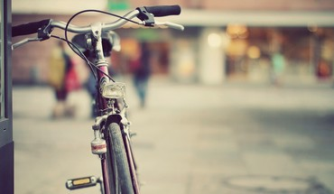 Streets vintage bicycles HD wallpaper