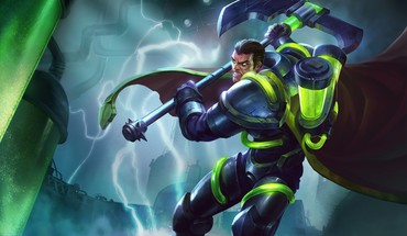 Darius online riot moba bioforge game axe HD wallpaper