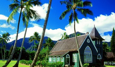 Hawaii churches kauai HD wallpaper