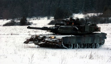 Nato conflict tracks tank m1a2 main battle HD wallpaper