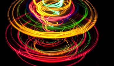 cercles multicolores  HD wallpaper