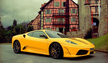 Ferrari luxury sport car the road cars engines HD wallpaper