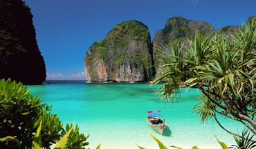 Thailand islands paradise sea HD wallpaper
