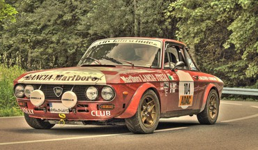 Lancia rallye classic cars motorsports racing HD wallpaper