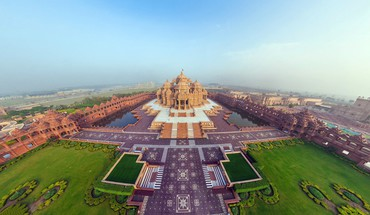 Urbains inde temple d'Akshardham  HD wallpaper