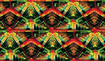 Andy gilmore cubes tribal HD wallpaper