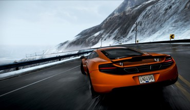 saulės spindulių Need for Speed ​​McLaren mp4-12c persekiojimo  HD wallpaper