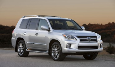 Automobiliai Lexus VX 570  HD wallpaper