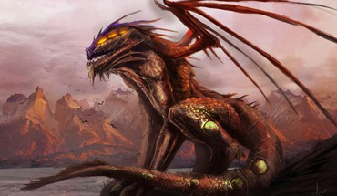 Dragons Fantasy Art  HD wallpaper
