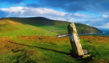 Ogham stone county kerr ireland HD wallpaper