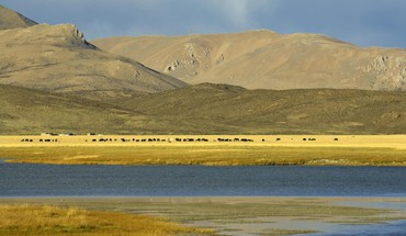Tibet nature HD wallpaper