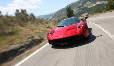 Pagani Huayra 2013  HD wallpaper