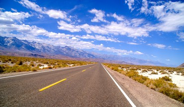 Usa roads death valley HD wallpaper